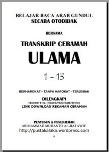 TRANSKRIP CERAMAH