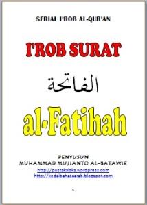 I'ROB AL-FATIHAH